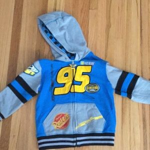 Disney Lightning McQueen boys jacket- size 3